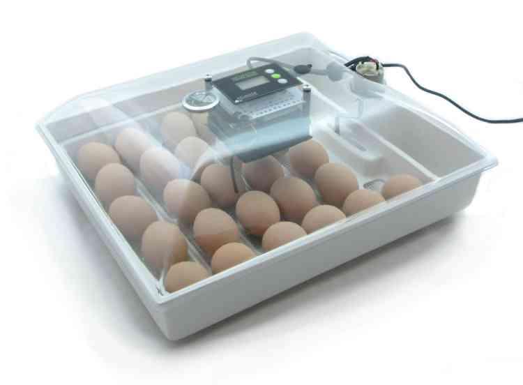 IncuView All-In-One Automatic Egg Incubator with built-in Automatic Egg Turner