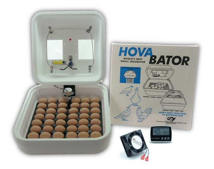 Hova Bator Advanced Egg Incubator Combo Kit