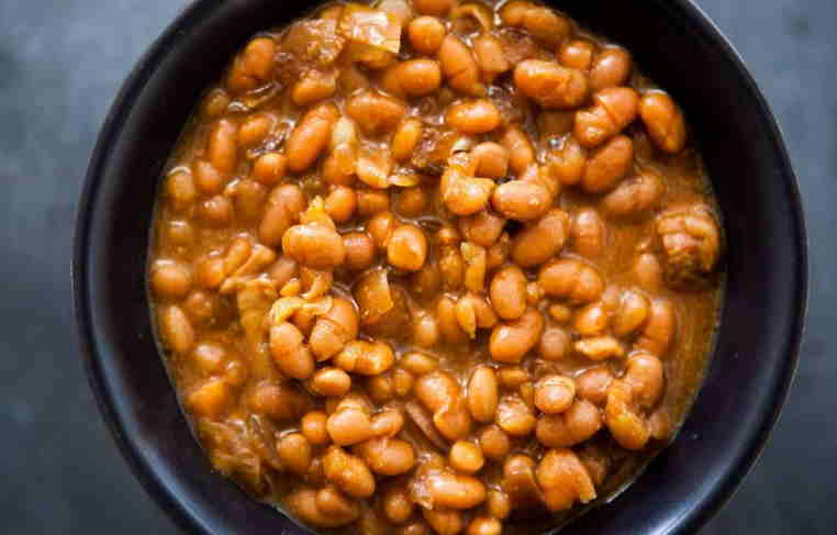 can chicken eat Cooked beans
